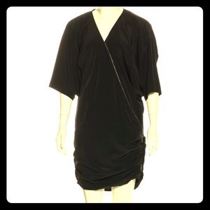 Elizabeth and James black zipper dress
